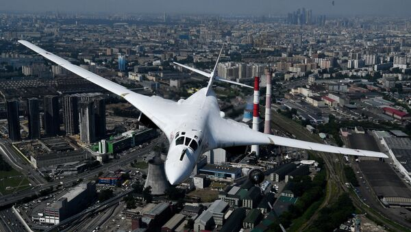 Tu-160 stratejik bombardıman uçağı - Sputnik Türkiye