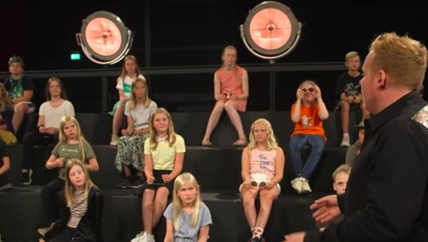 Danimarka'da çocuk kanalı - Sputnik Türkiye