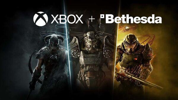 Microsoft, XBOX, Bethesda oyun stüdyosu - Sputnik Türkiye