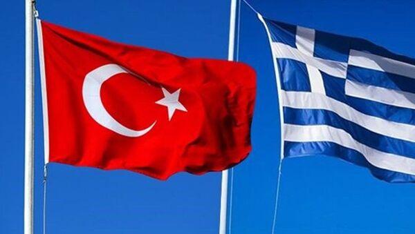 Türkiye Yunanistan bayrak - Sputnik Türkiye