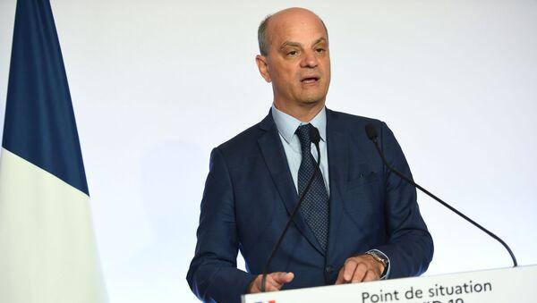 Jean-Michel Blanquer (Fransa Eğitim, Gençlik ve Spor Bakanı) - Sputnik Türkiye