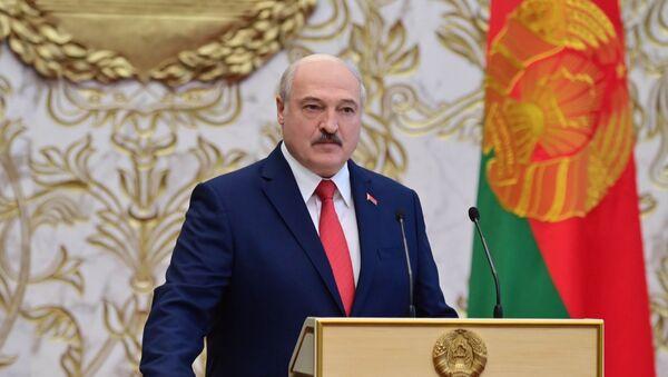 Aleksandr Lukaşenko - yemin etme töreni - Sputnik Türkiye
