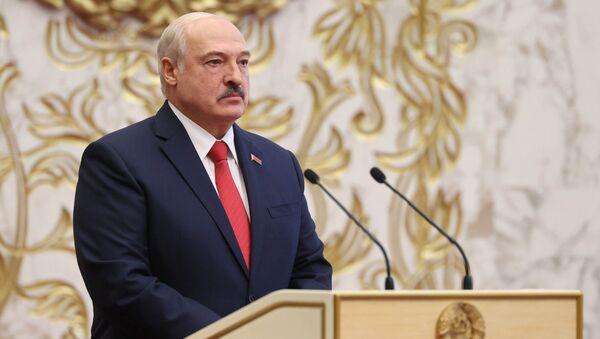 Belarus'ta Devlet Başkanı Aleksandr Lukaşenko - Sputnik Türkiye