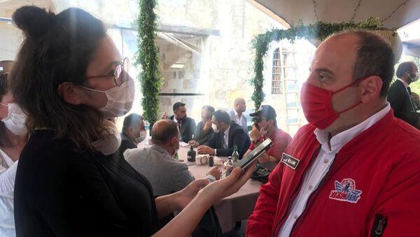 Sanayi ve Teknoloji Bakanı Mustafa Varank, Sputnik'in sorularını yanıtladı. - Sputnik Türkiye