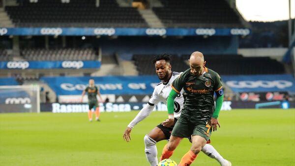 Süper Lig ekiplerinden Aytemiz Alanyaspor, UEFA Avrupa Ligi 3. eleme turunda Norveç temsilcisi Rosenborg ile Lerkendal Stadı'nda karşılaştı. - Sputnik Türkiye