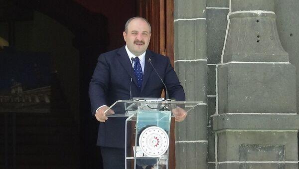 Sanayi ve Teknoloji Bakanı Mustafa Varank, - Sputnik Türkiye