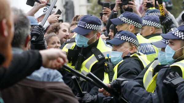 İngiltere, protesto - Sputnik Türkiye
