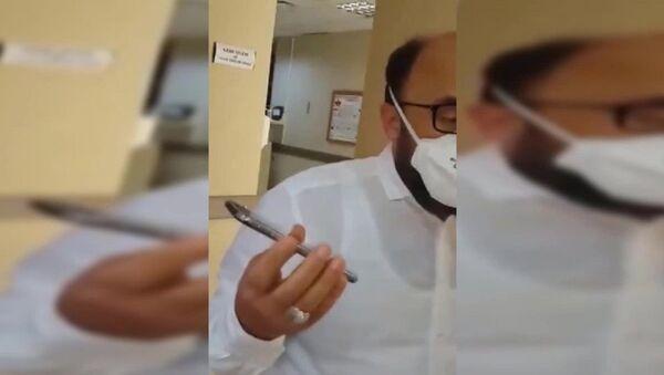 Trabzon, doktora tehdit - Sputnik Türkiye