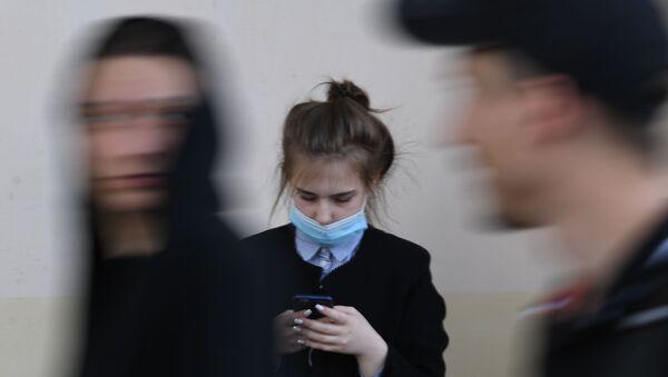 Moskova - koronavirüs - maske - Sputnik Türkiye