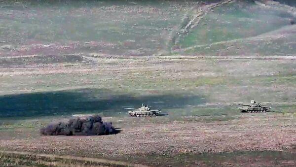 Dağlık Karabağ'da çatışmalar - Sputnik Türkiye
