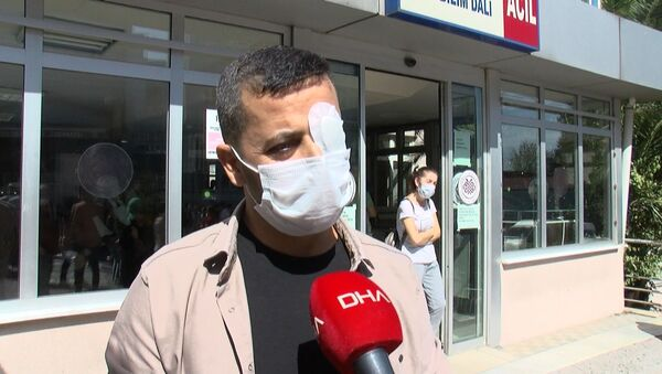 Saldırıya uğrayan sağlık çalışanı  Rıfat Babayiğit - Sputnik Türkiye