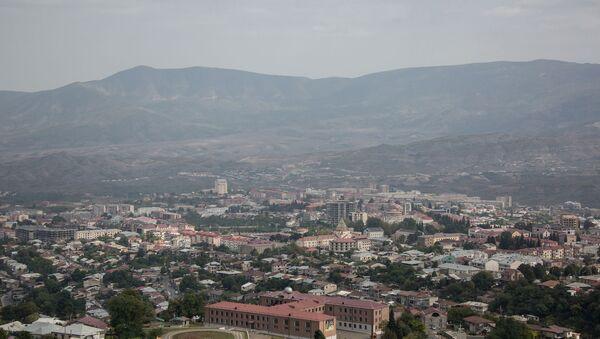 Dağlık Karabağ- Stepanakert (Hankendi) şehri - Sputnik Türkiye