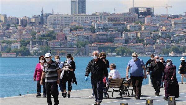 İstanbul, maske, koronavirüs - Sputnik Türkiye