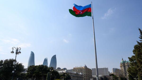 Azerbaycan bayrak - Azerbaycan bayrağı - Sputnik Türkiye