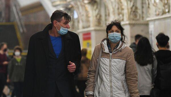 Rusya - koronavirüs - maske - Sputnik Türkiye