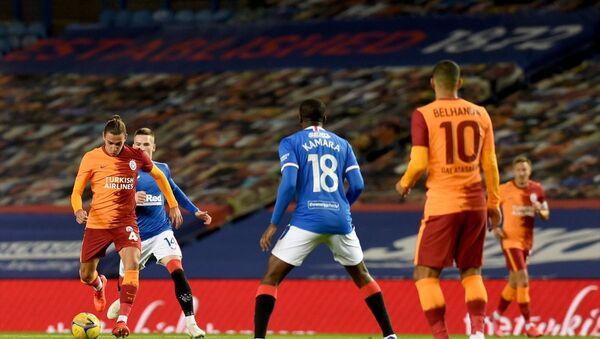 UEFA Avrupa Ligi play-off turunda İskoçya'nın Rangers takımına 2-1 yenilen Galatasaray, Avrupa'ya veda etti - Sputnik Türkiye