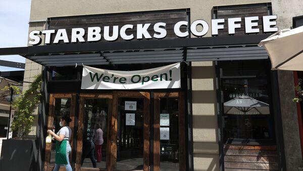 Starbucks - ABD - Kaliforniya - Sputnik Türkiye