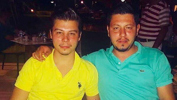 Metin Cemal Avcı ve kardeşi Mertcan Avcı - Sputnik Türkiye
