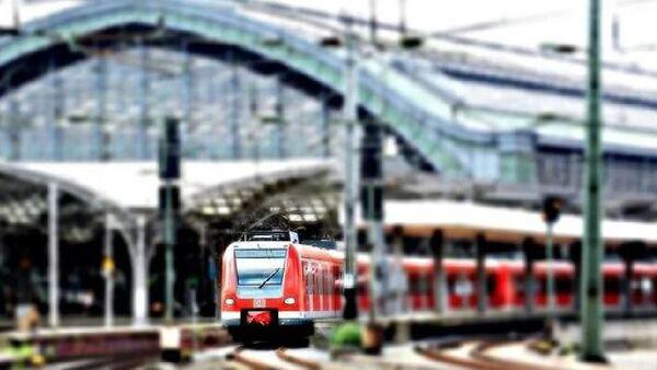 Almanya'da tren - Sputnik Türkiye