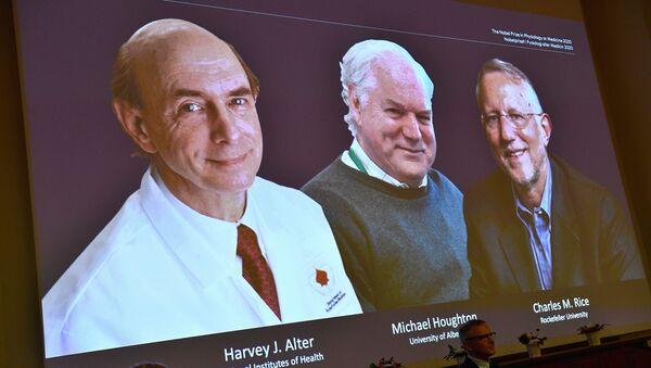 Harvey J. Alter, Michael Houghton ve Charles M. Rice - Sputnik Türkiye