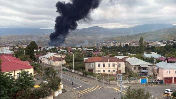 Ermenistan ve Azerbaycan kentlerine yapılan saldırıların sonuçları - Sputnik Türkiye