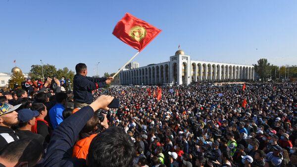 Bişkek'te protestolar - Sputnik Türkiye