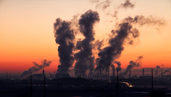 hava kirliliği, fabrika, duman - Sputnik Türkiye
