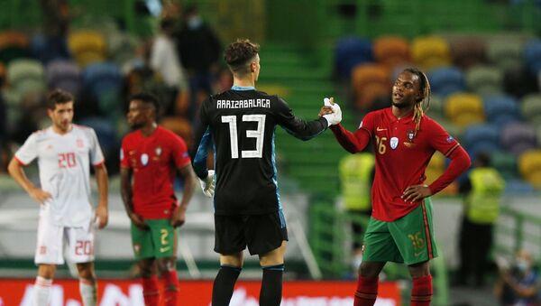 İspanya-Portekiz hazırlık maçı - Sputnik Türkiye