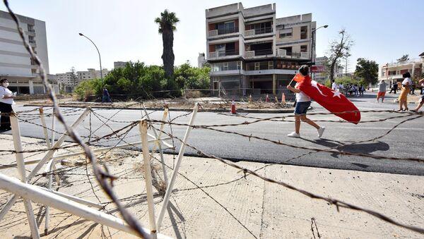 Kapalı Maraş'ın bir kısmının halka açılması - Sputnik Türkiye