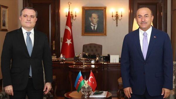 Çavuşoğlu - Bayramov - Sputnik Türkiye
