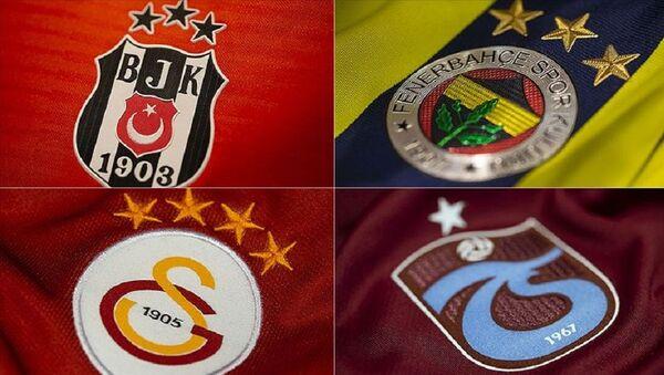 Dört büyükler - Beşiktaş, Fenerbahçe, Galatasaray, Trabzonspor - Sputnik Türkiye