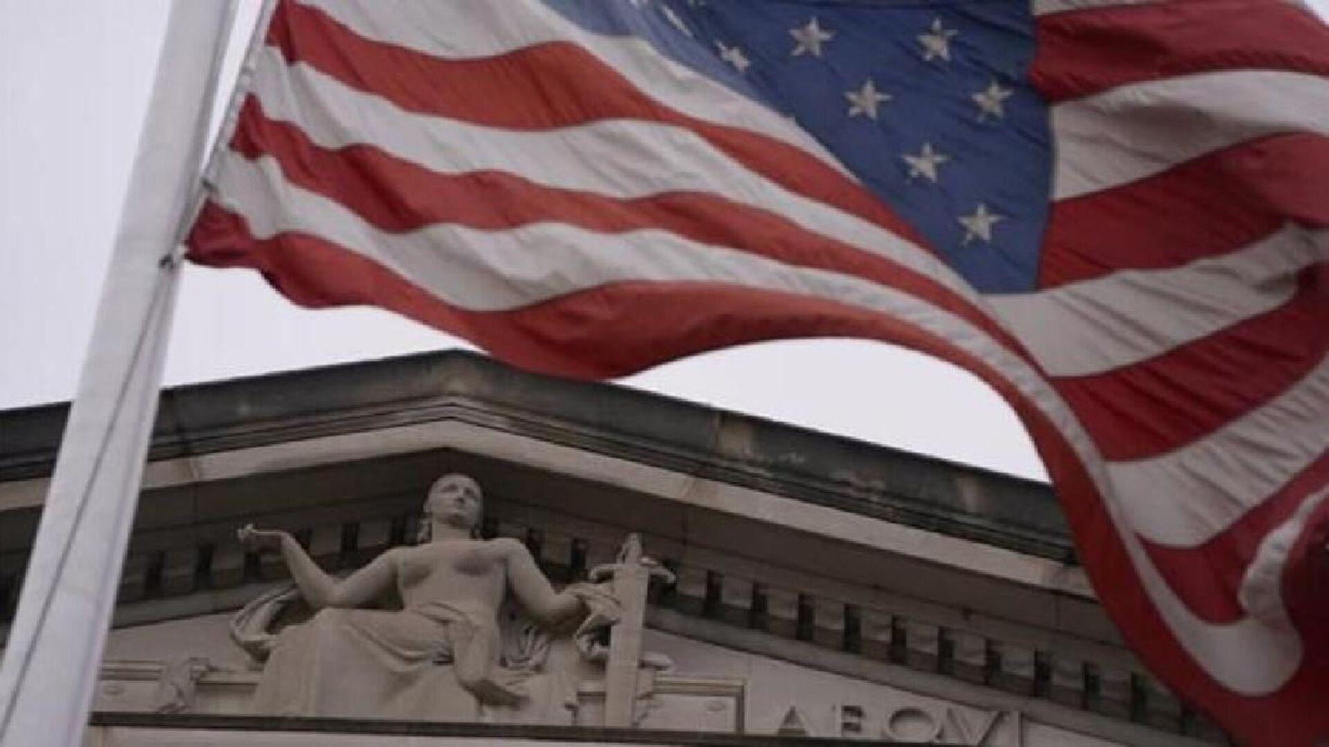 ABD bayrağı, ABD mahkeme, ABD Yüksek Mahkeme - Sputnik Türkiye, 1920, 15.04.2021