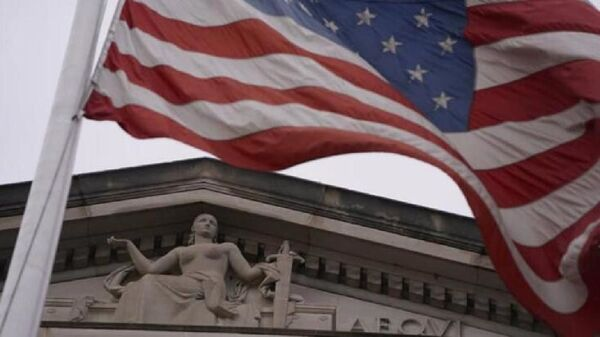 ABD bayrağı, ABD mahkeme, ABD Yüksek Mahkeme - Sputnik Türkiye