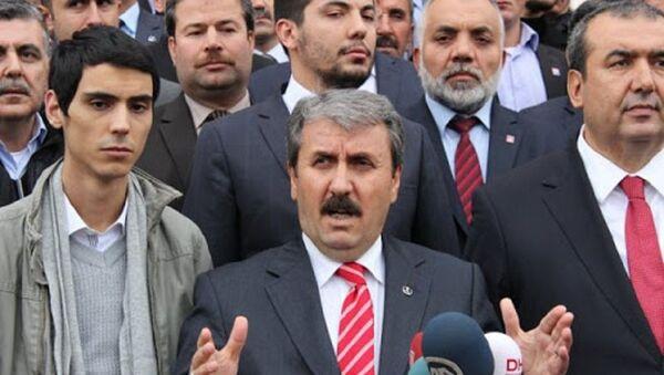 Furkan Yazıcıoğlu-Mustafa Destici - Sputnik Türkiye