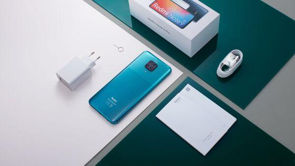 Xiaomi Redmi Note 9 kutu içeriği - Sputnik Türkiye