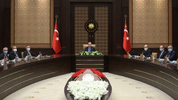 Cumhurbaşkanı Erdoğan, YÖK heyetini kabul etti - Sputnik Türkiye