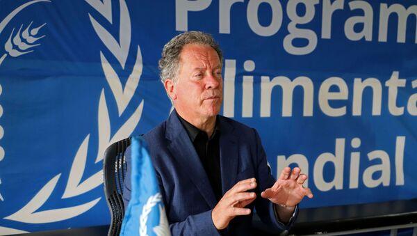 Nobel Barış Ödülü'ne layık görülen Birleşmiş Milletler (BM) Dünya Gıda Programı (WFP) Direktörü David Beasley - Sputnik Türkiye