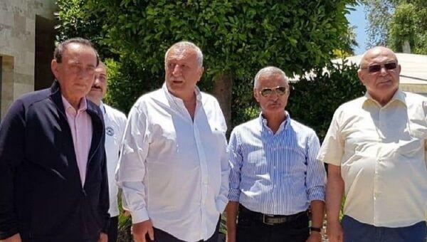 Engin Alan, Korkut Eken, Alaattin Çakıcı, Mehmet Ağar - Sputnik Türkiye