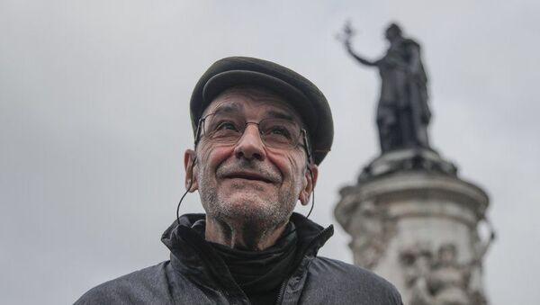 Paris'te konuşan son ETA lideri Josu Urrutikoetxea (Josu Ternera) - Sputnik Türkiye