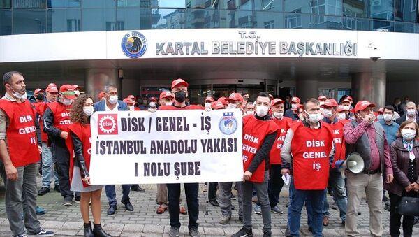Kartal Belediyesi, grev kararı - Sputnik Türkiye