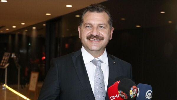 Balıkesir Büyükşehir Belediye Başkanı Yücel Yılmaz - Sputnik Türkiye