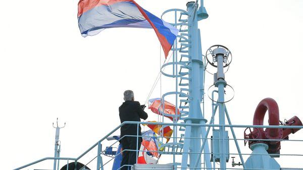 Rus nükleer buzkıran gemisi - Sputnik Türkiye