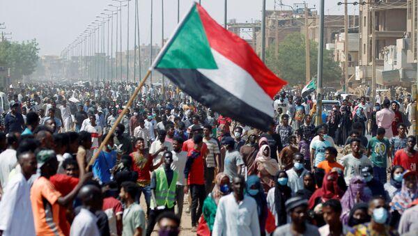 Sudan - Hartum - bayrak - Sputnik Türkiye
