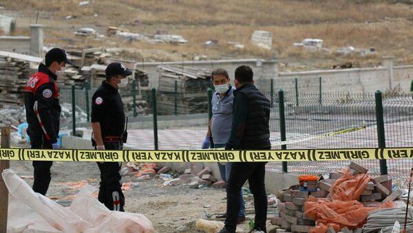 Kaza yeri girilmez, polis inceleme - Sputnik Türkiye