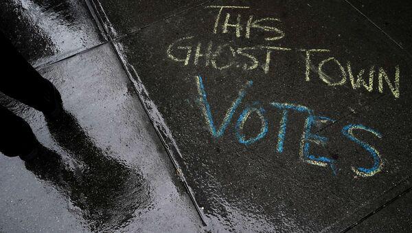 ABD - seçim - ABD′de erken oy kullanma - oy verme - New York - Sputnik Türkiye