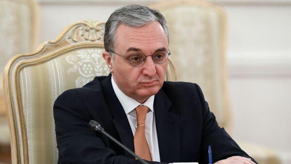Ermenistan Dışişleri Bakanı Zohrab Mnatsakanyan - Sputnik Türkiye