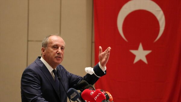 Eski CHP Milletvekili Muharrem İnce - Sputnik Türkiye