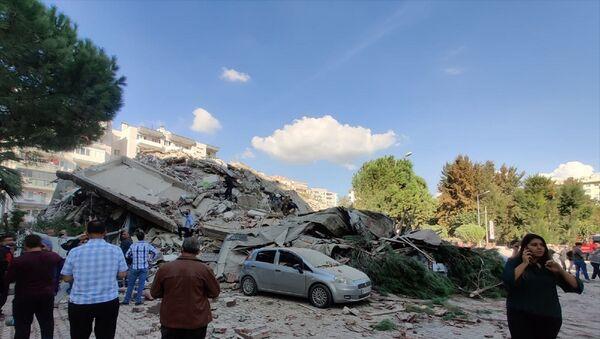 İzmir – deprem - - Sputnik Türkiye