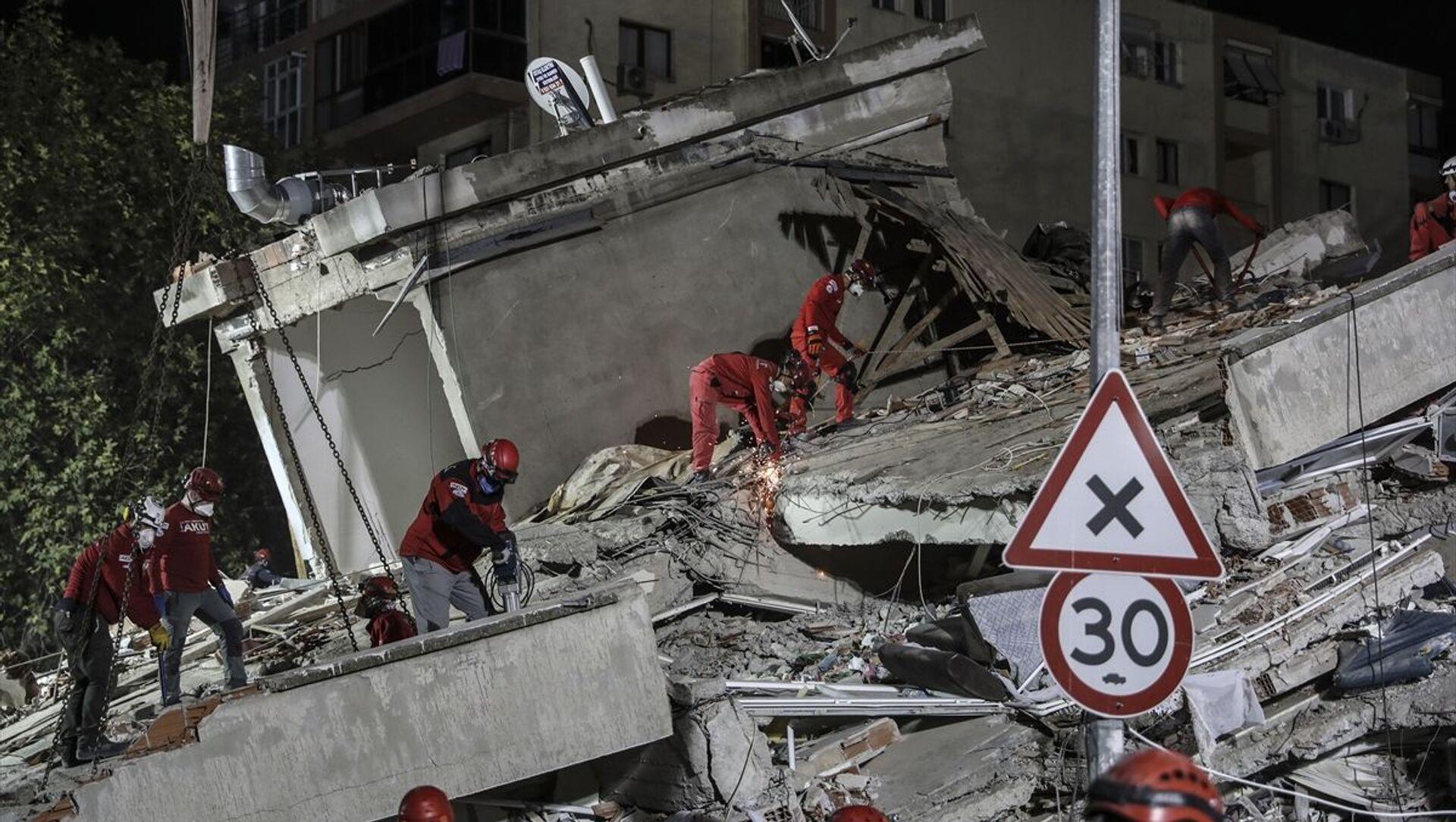 İzmir, deprem - Sputnik Türkiye, 1920, 12.03.2021