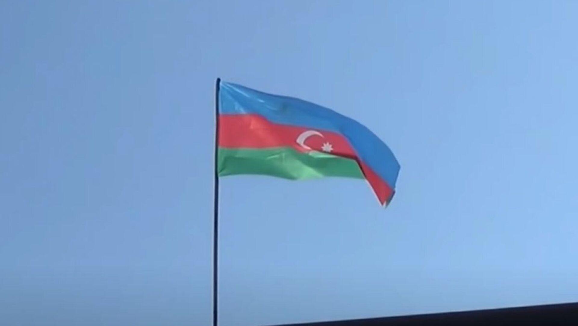 Azerbaycan bayrağı - Sputnik Türkiye, 1920, 09.06.2021